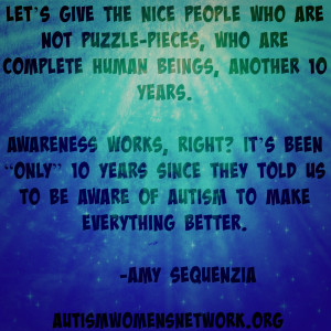 Amy Sequenzia quote