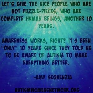 Amy Sequenzia quote