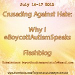 Why I #BoycottAutismSpeaks