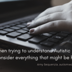 Autism, Movement, Neurodiversity