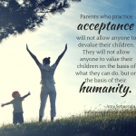 Autism Acceptance – It Requires Action