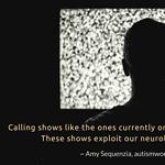 Autistic Representation Needs Autistic Voices