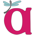 "Image is the AWN letter ""a"" logo with a spoonfly perched on the upper left corner."